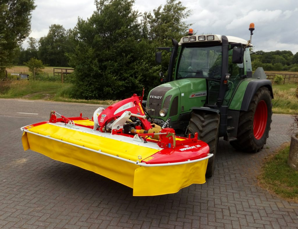 Pottinger maaier Novacat 301